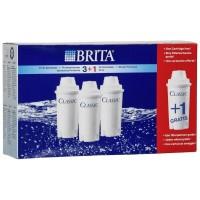 Картриджи BRITA Classic Pack 3+1